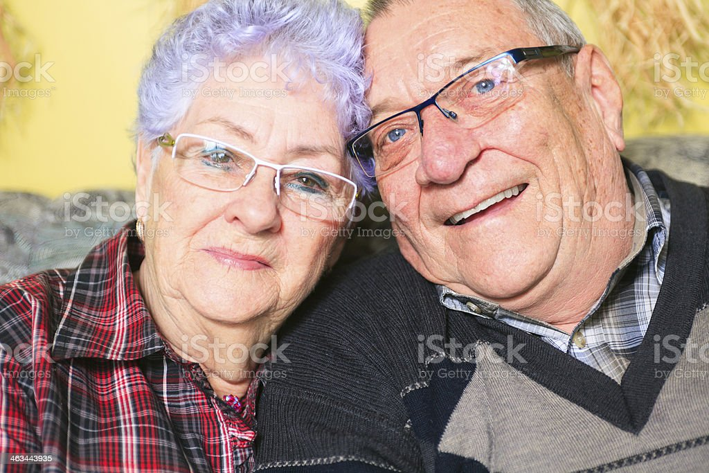Senior Couple - Nice Portrait stock photo