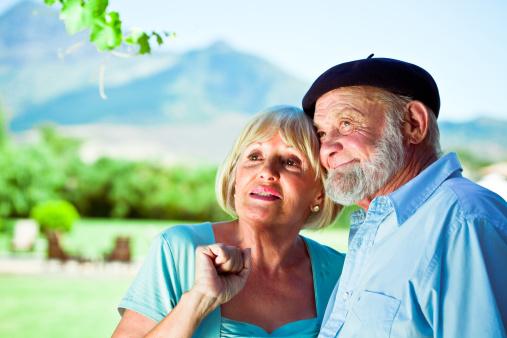 Senior Couple Stock Photo - Download Image Now