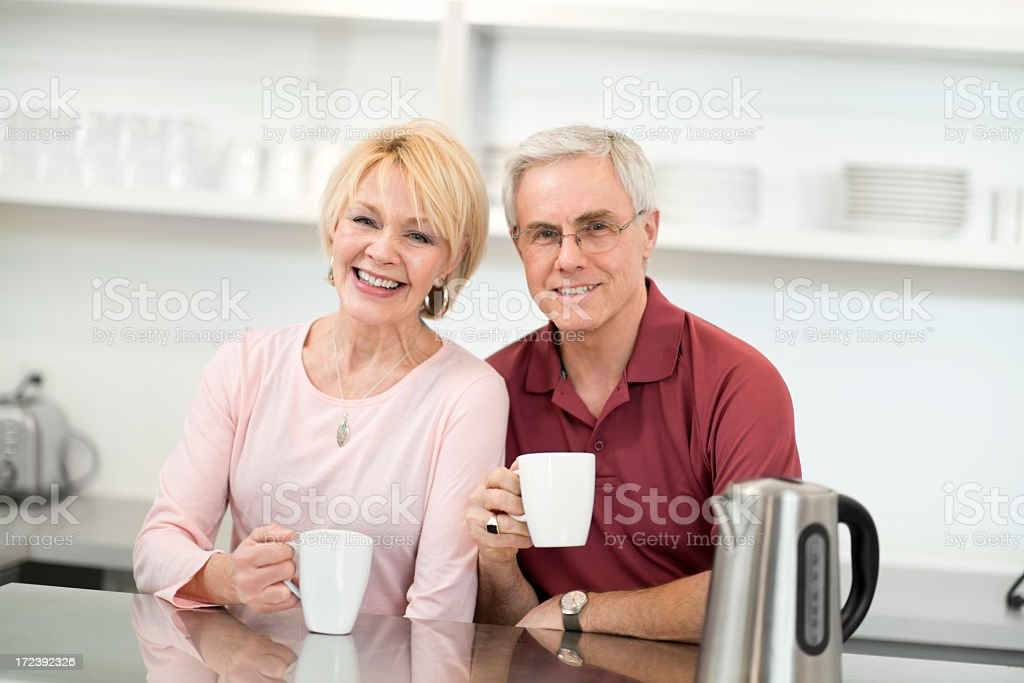 Senior Couple. royalty-free stock photo
