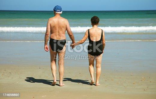 istock Senior couple 174658892