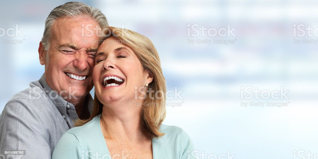 Senior couple stock photo