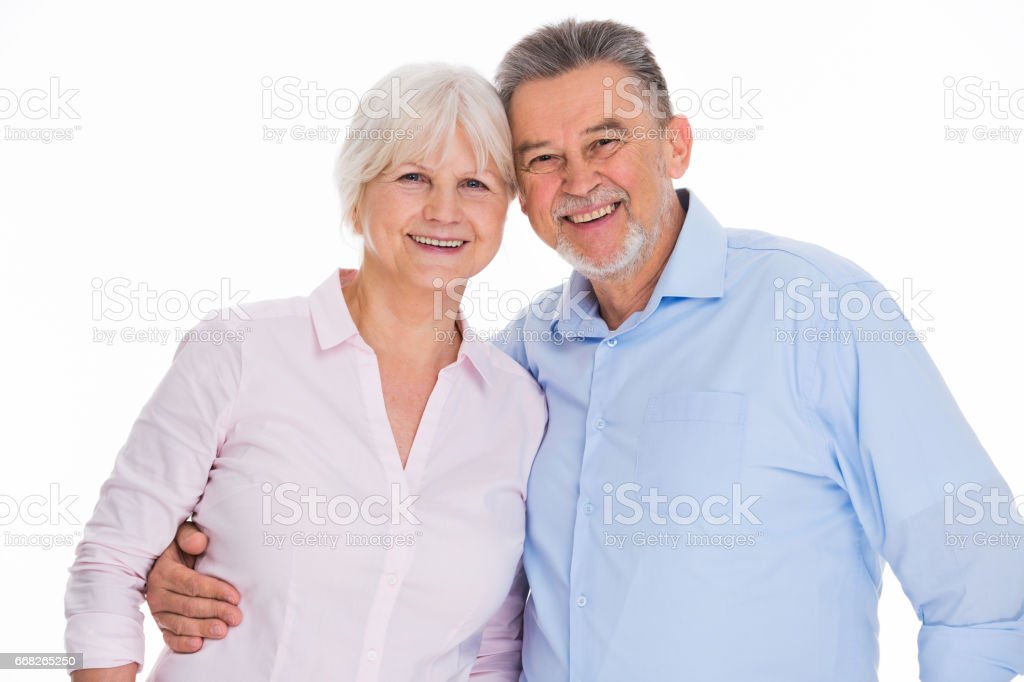 Senior couple foto stock royalty-free