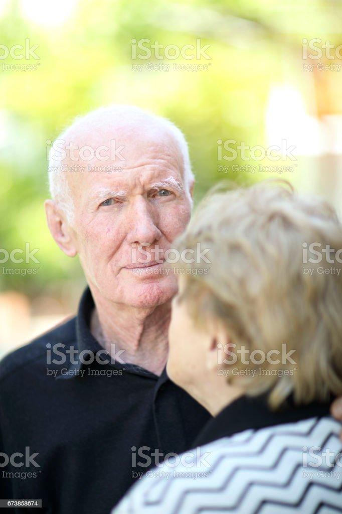 Couple âgé photo libre de droits