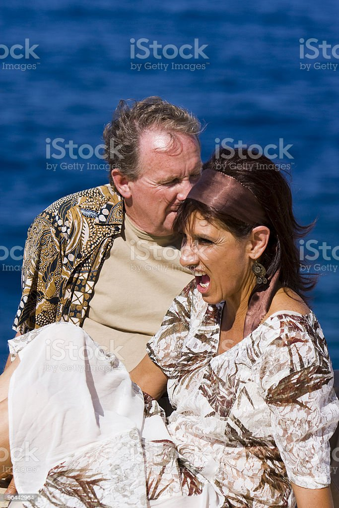Senior Couple - Royalty-free Adults Only Stock Photo