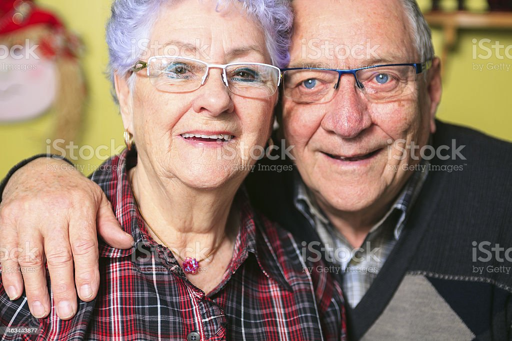 Senior Couple - Portrait stock photo
