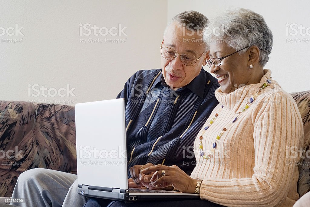 Senior Couple Series royalty-free stock photo