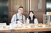 An elderly couple quit their job and run a cafe to spend fulfilling days.