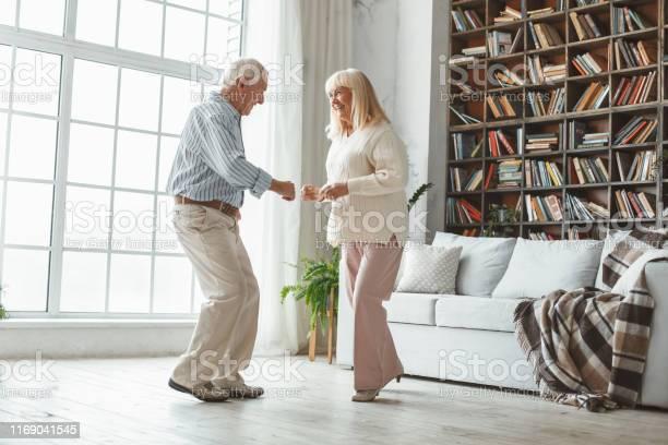 Senior couple together at home retirement concept dancing active picture id1169041545?b=1&k=6&m=1169041545&s=612x612&h=vztpuigky8p4kov vtrushem zpyp fnladhoxz0tge=