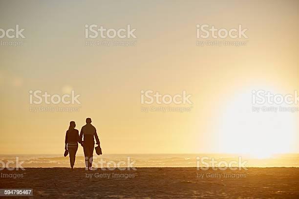 Photo of Senior couple walking on beach