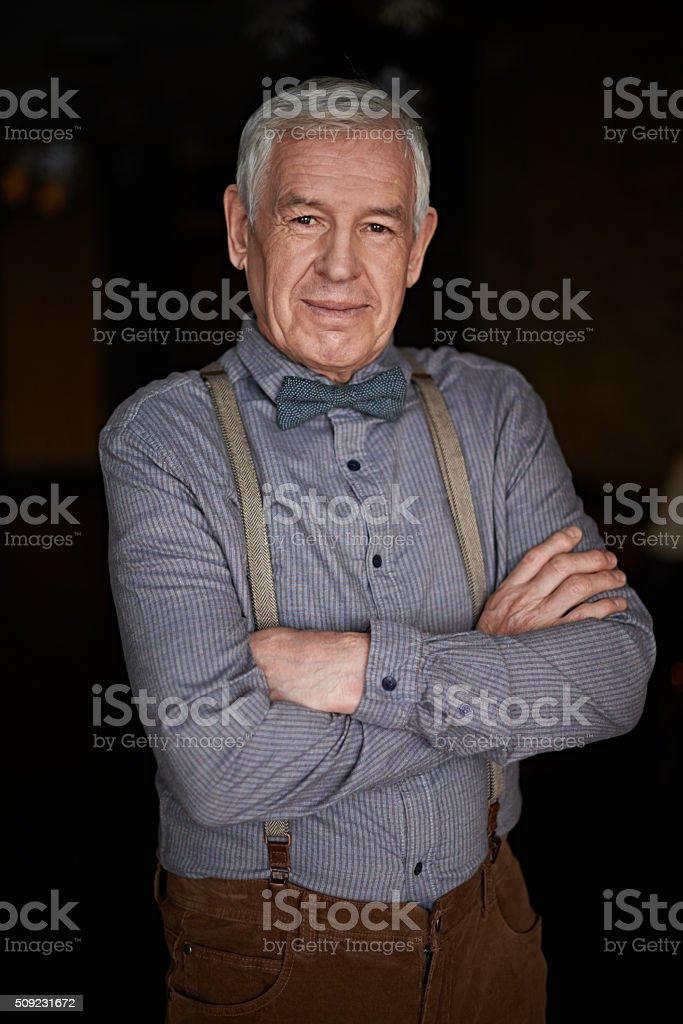 Senior dandy - Photo
