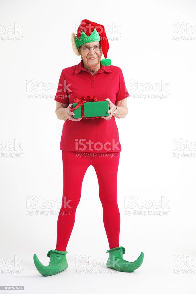 Senior Elf royalty-free stock photo