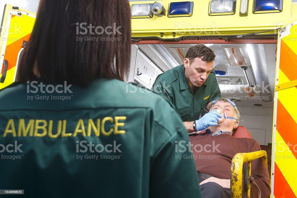 senior emergency stock photo