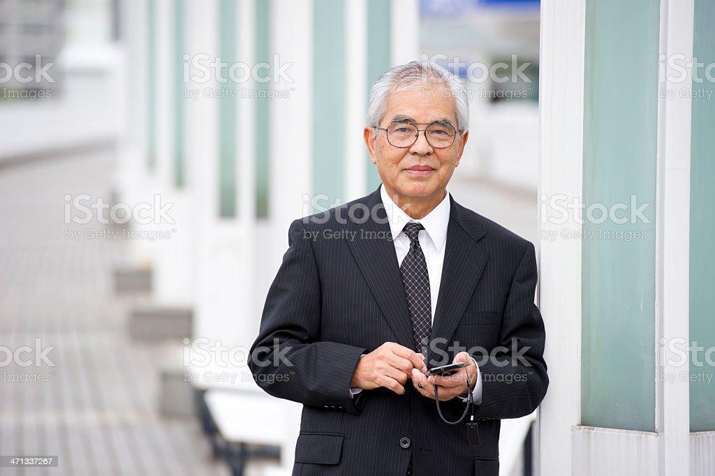 Senior Exectutive stock photo