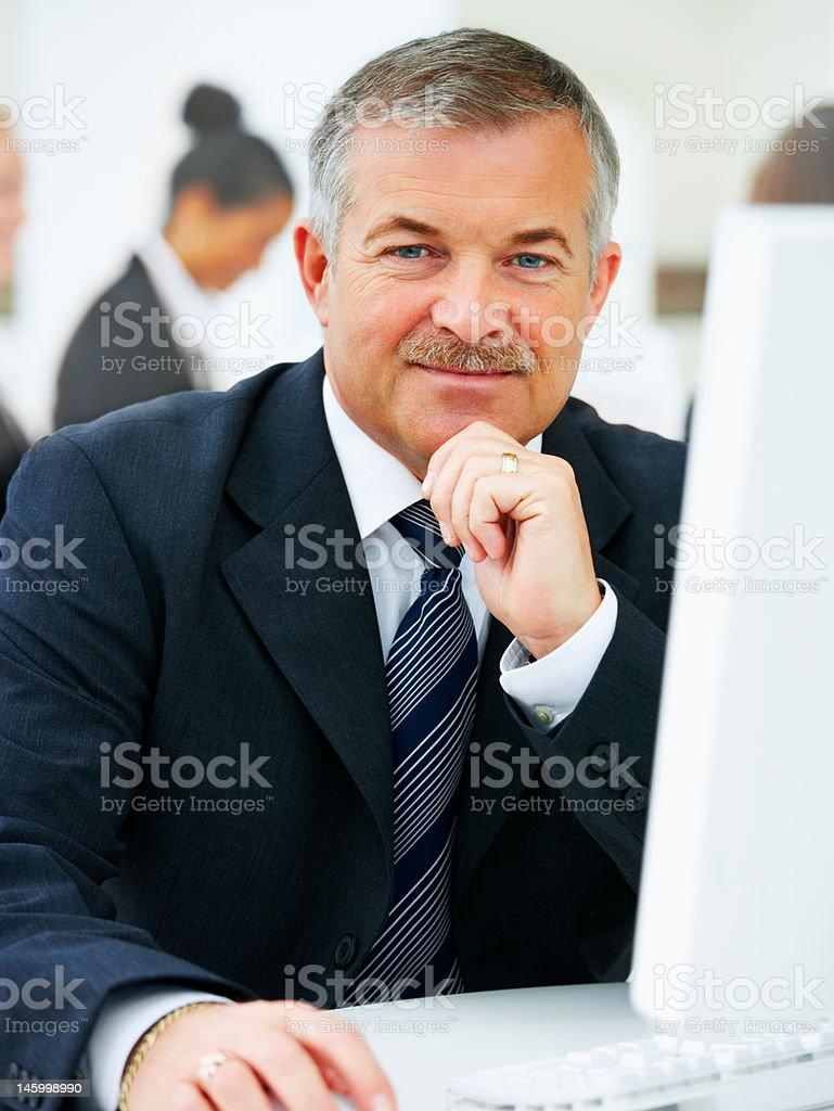 Senior executive business Mann – Foto
