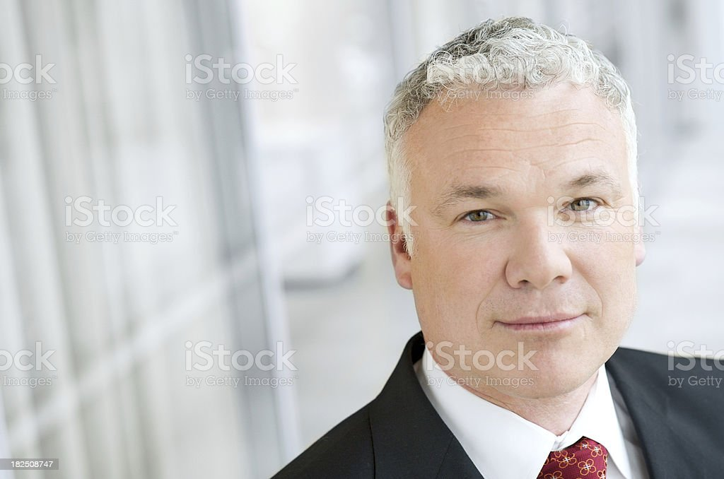 Senior Executive Businessman stock photo