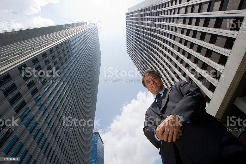 Senior Executive royalty-free stock photo