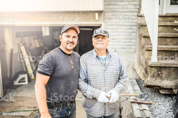 Senior father and his adult son renovating their house picture id862302008?b=1&k=6&m=862302008&s=612x612&h=px2pjehsipgncpheloah5alddtoluhmasxtvn9l2fz8=