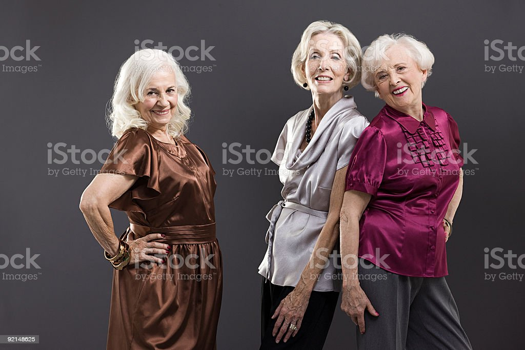 Senior Freundinnen – Foto