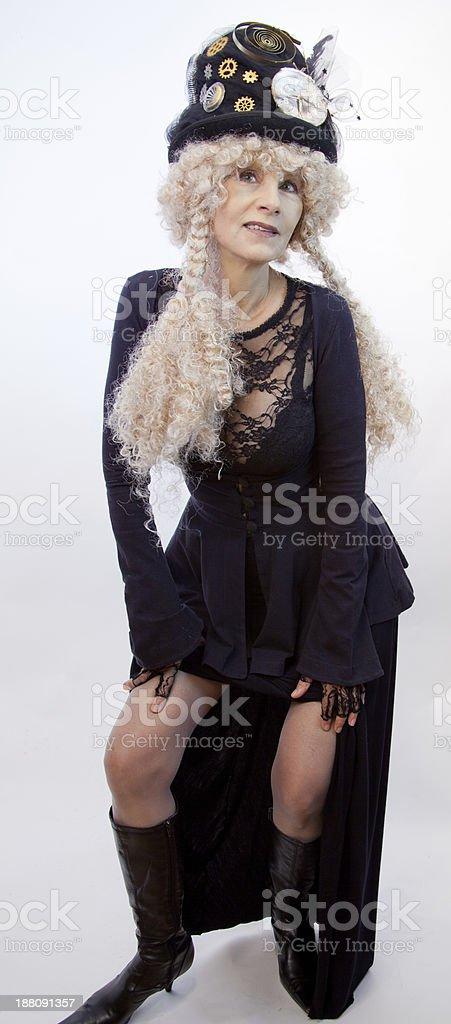Senior Female In Latest Fashion royalty-free stock photo