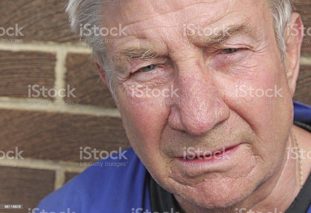 senior gent royalty-free stock photo