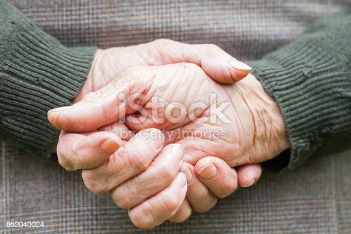istock Senior hands 852040024