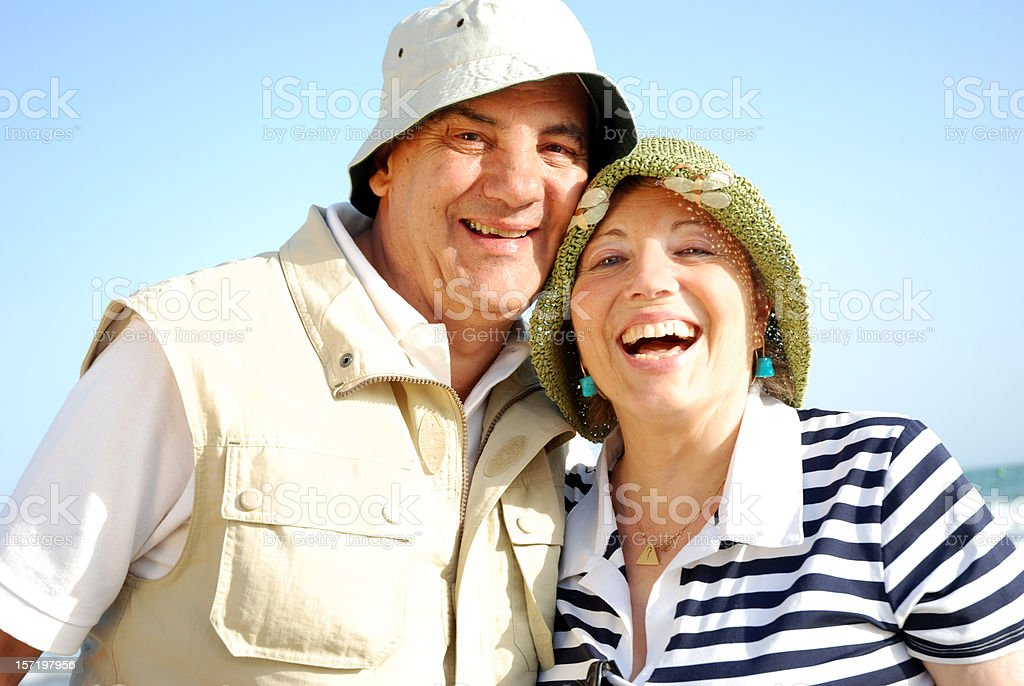 Senior Happiness royalty-free stock photo