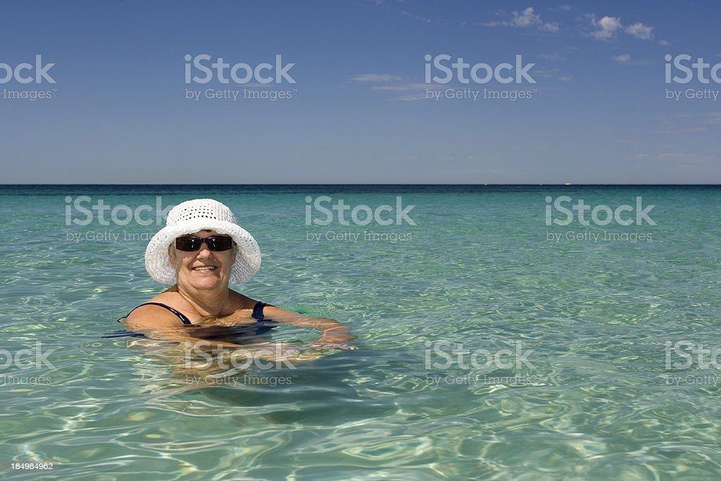 Senior Urlaub Lizenzfreies stock-foto
