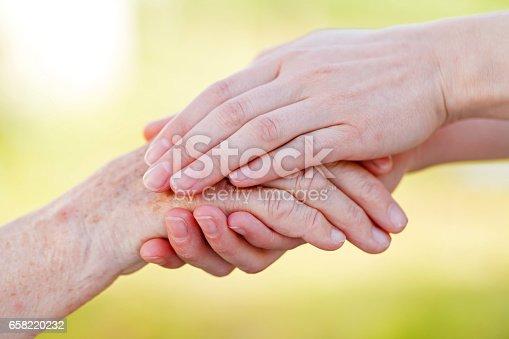 istock Senior homecare 658220232