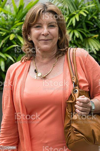 Senior Housewife Stock Photo - Download Image Now
