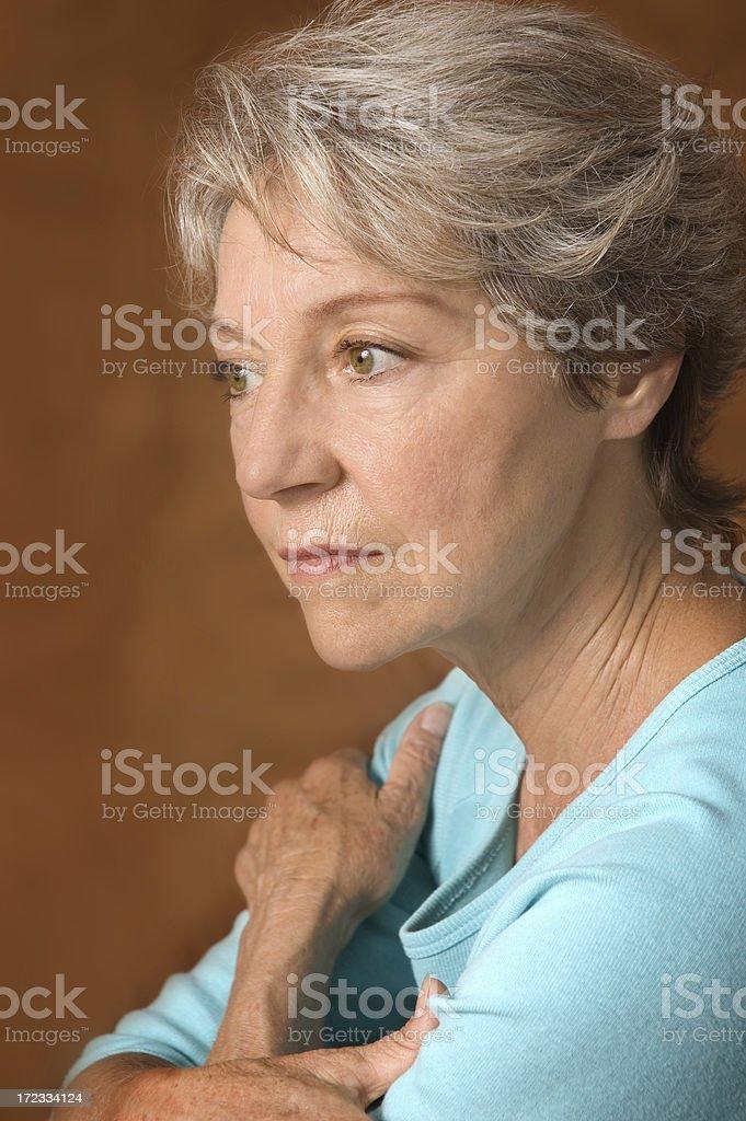 Senior Issues royalty-free stock photo
