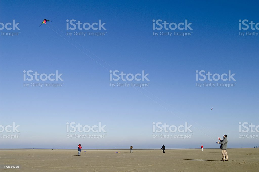 senior kite class royalty-free stock photo