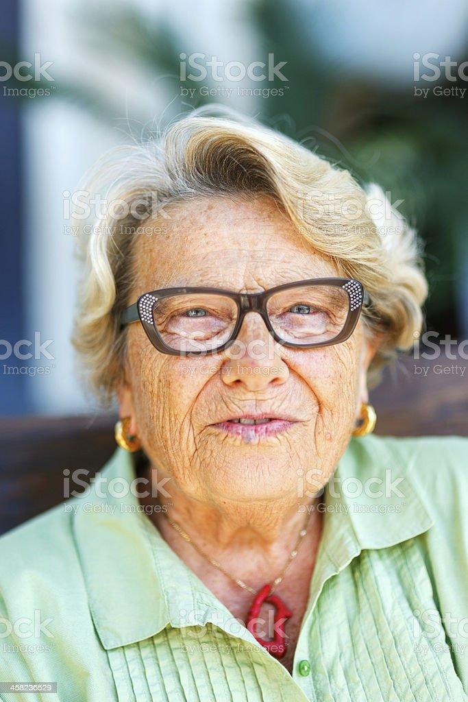 Mujer Senior - foto de stock