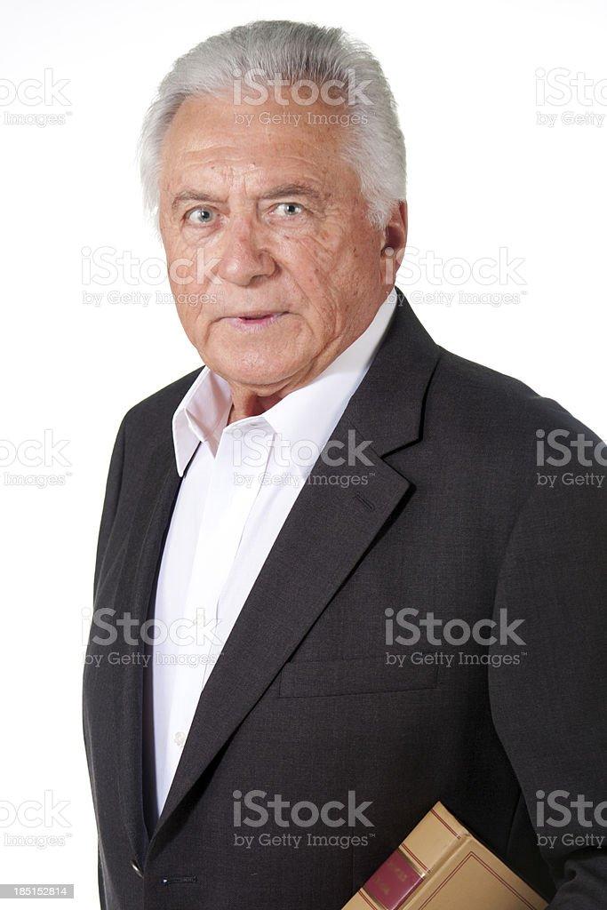 senior lawyer royalty-free stock photo