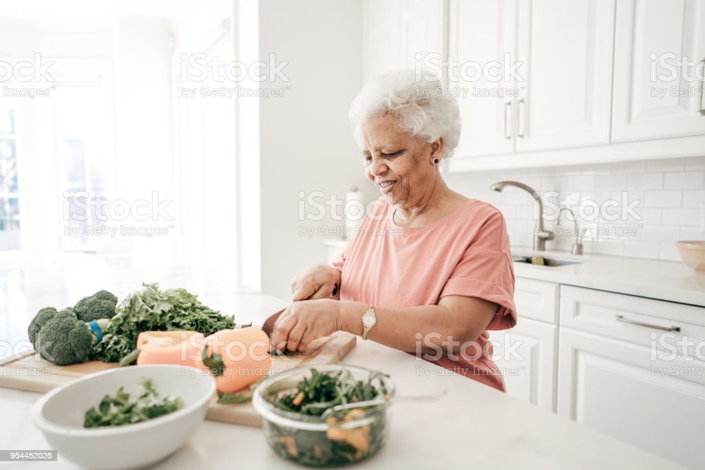 Senior life stock photo