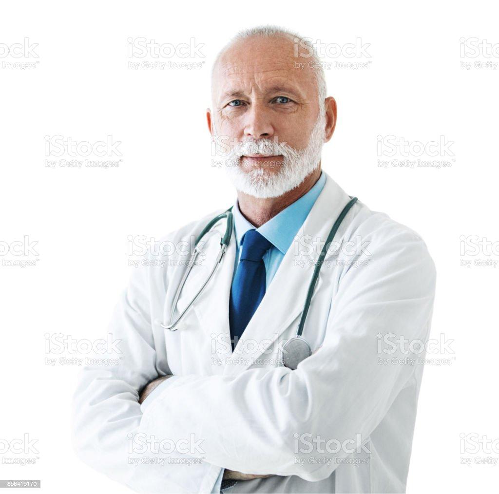 Senior männlichen Arzt. – Foto
