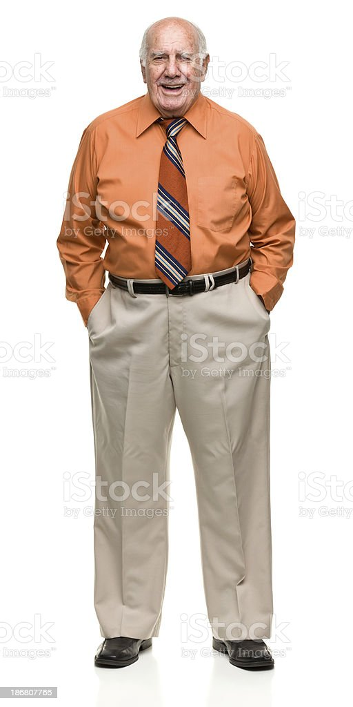 Senior Male Portrait royalty-free stock photo