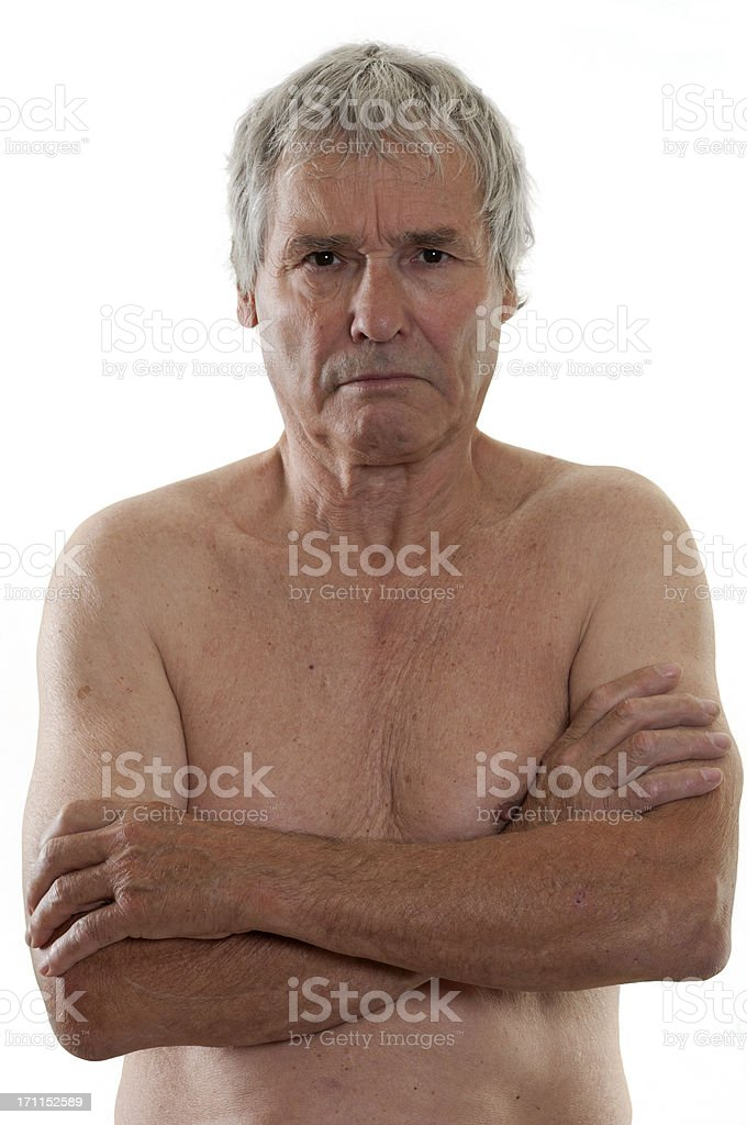 Alt mann nackt Nude Photos 15