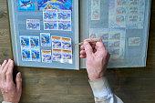 Postage Stamps vector flat set. eps 10