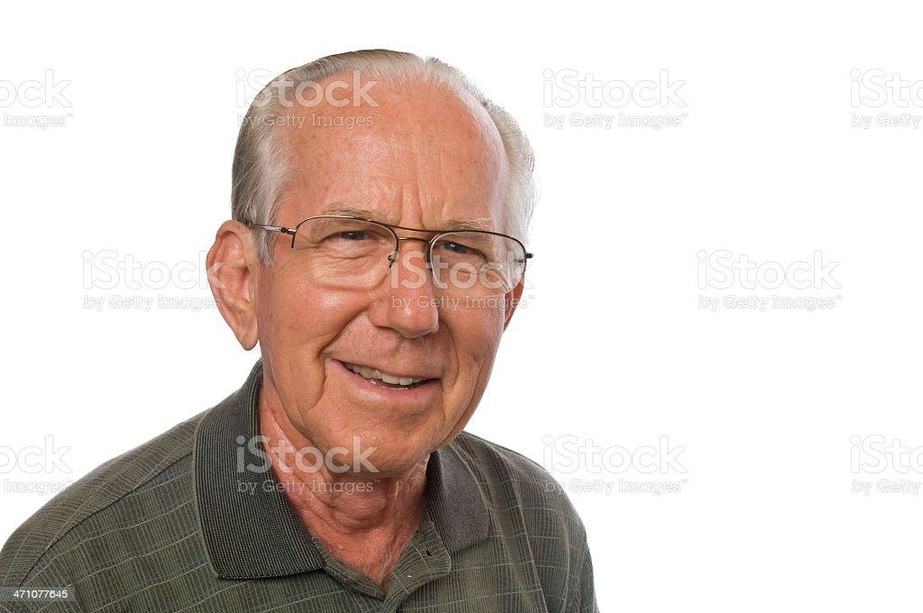 Senior Man royalty-free stock photo
