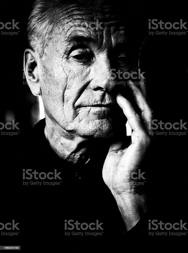 Homme Senior portrait - Photo