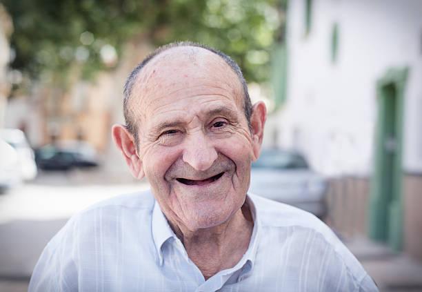 Alter Mann Porträt – Foto