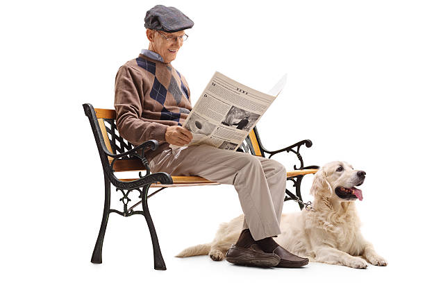 Senior man reading a newspaper with his dog picture id599504056?b=1&k=6&m=599504056&s=612x612&w=0&h=wvq1d6j4sgeye6dheyxqhgu43zsjd4drlonlrdvq6jk=
