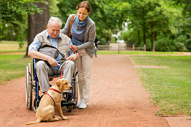 Senior man sitting on a wheelchair with caregiver picture id599267964?b=1&k=6&m=599267964&s=612x612&w=0&h=5mnxxgokbqtdaa9 2nmz75 y2zdbu6vgnt9e2qznkyo=