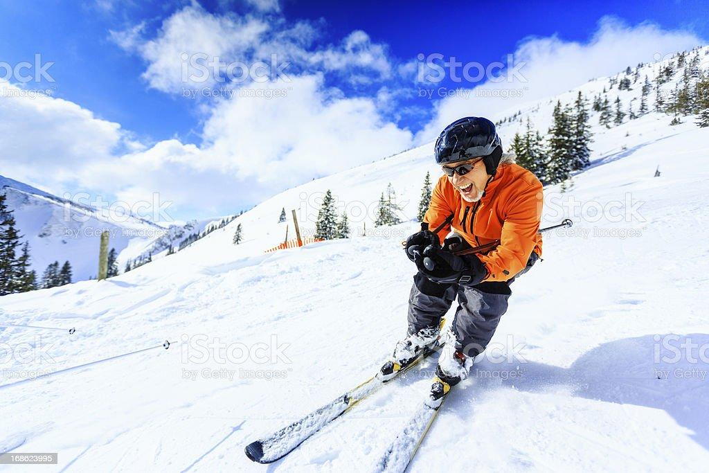senior Mann Alpin – Foto