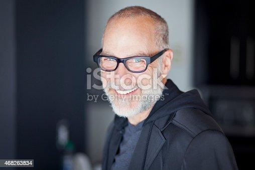 istock Senior Man Smiling At The Camera 468263834