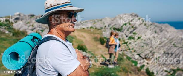 Senior man trekking looking at the landscape picture id1223934073?b=1&k=6&m=1223934073&s=612x612&h=x34l dvyjx0b8is7x7ffu8htc0zogj7x 6rrrc2xkp4=