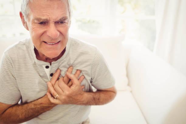 Último homem com dor no coração - foto de acervo