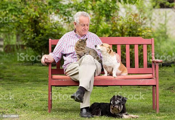 Senior man with pets picture id494208863?b=1&k=6&m=494208863&s=612x612&h=a8 lctwr3aryqeendud0hodcop8gh3a8tkn3t03xaoc=