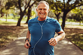 istock Senior man working out for good health 1135152361