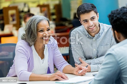 istock Senior manager facilitates staff meeting 969143834